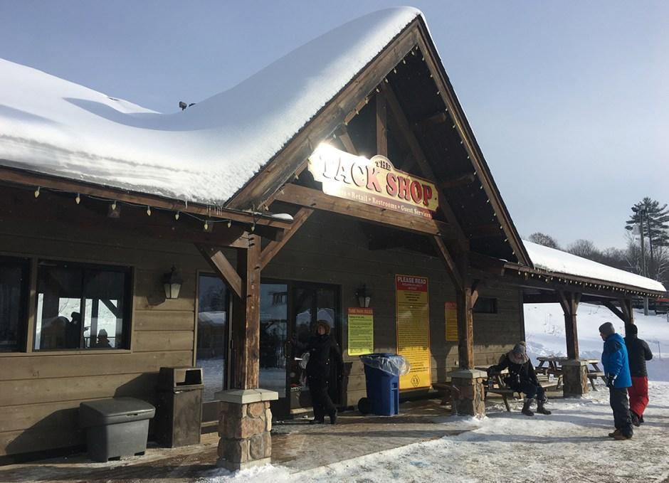 snow tubing tack shop