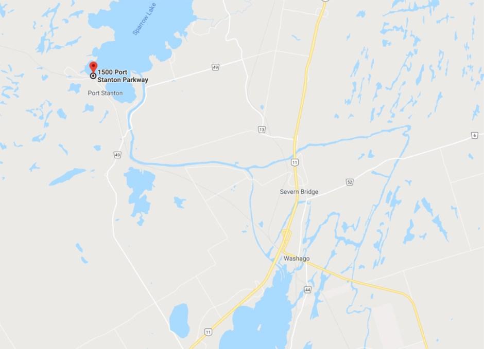 Bayview Wildwood map