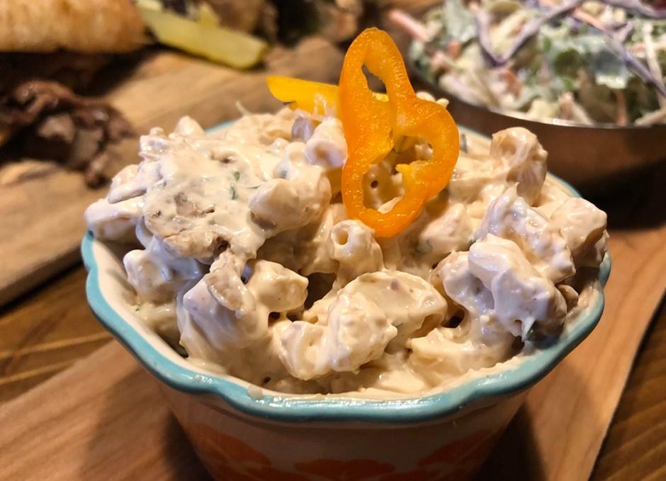 R Cottage macaroni salad