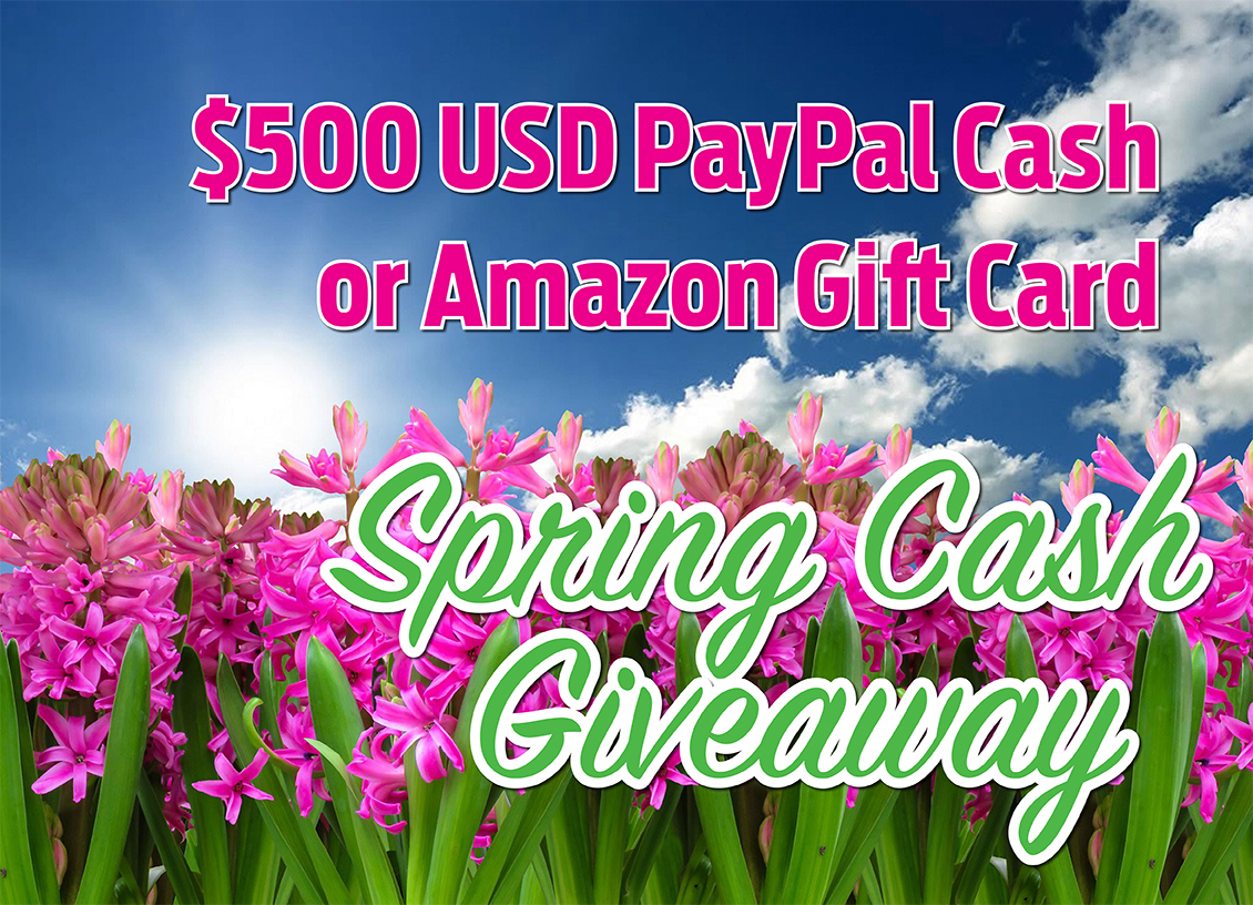 Spring Cash giveaway feature
