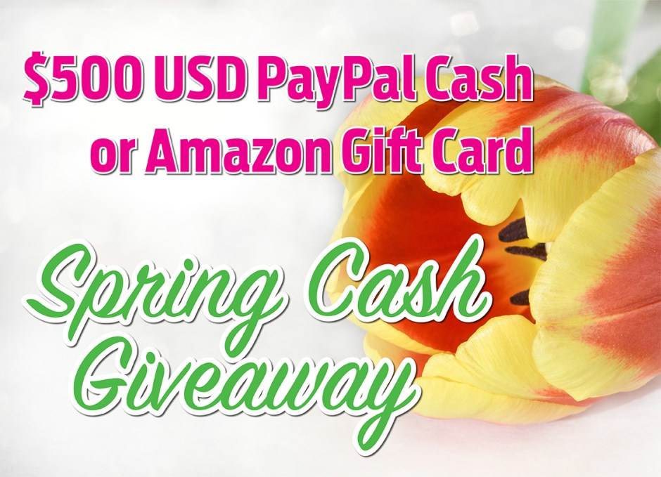 Spring Cash giveaway mid picture