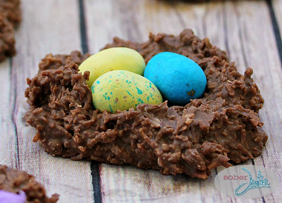 easter treats 2 Coconut Easter Nests