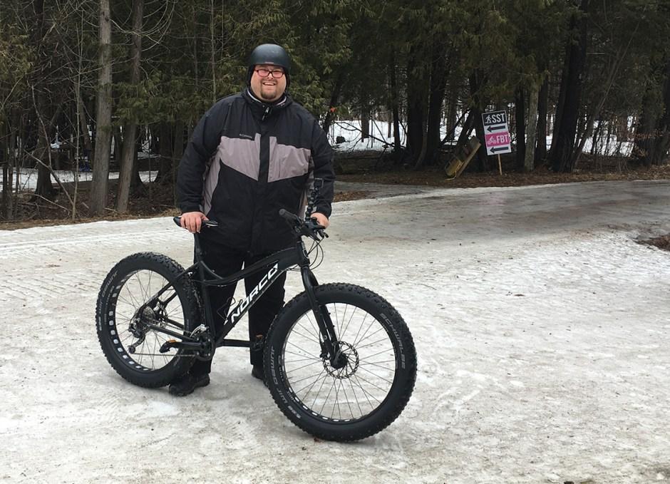 ontarios lake country craig fat biking
