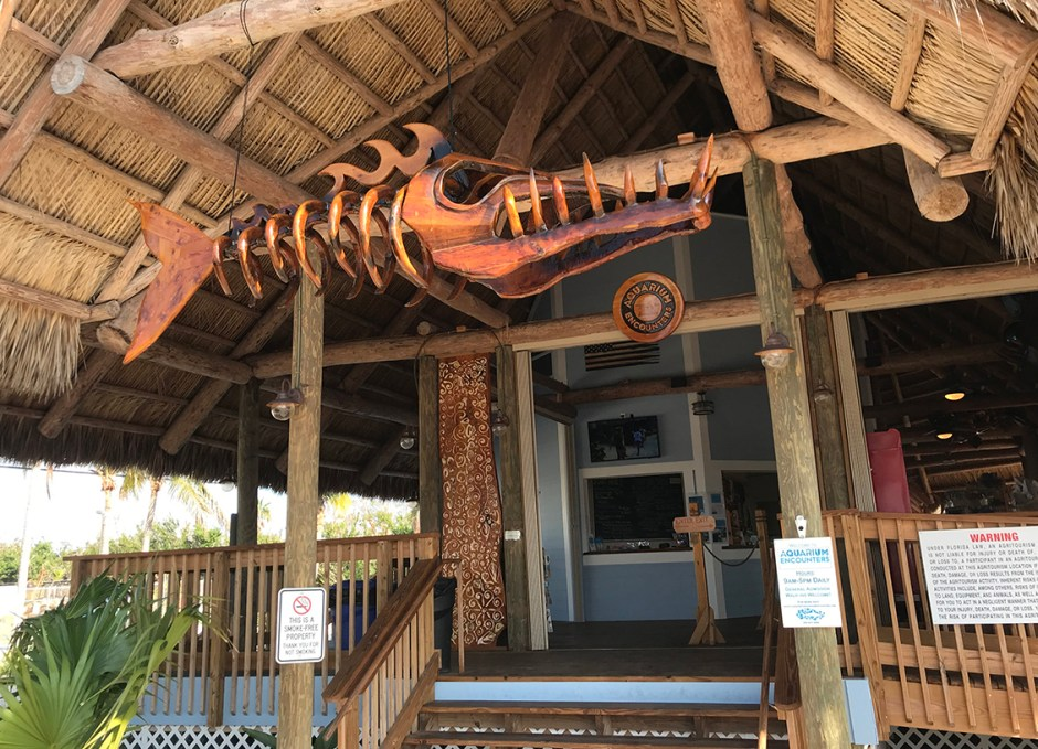 Aquarium Encounters entrance