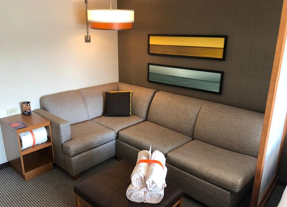 Faro Blanco Resort sitting area
