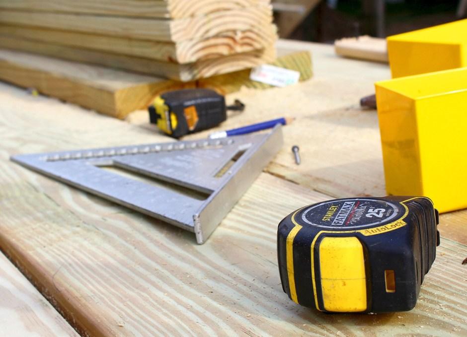 Renovation tape measure