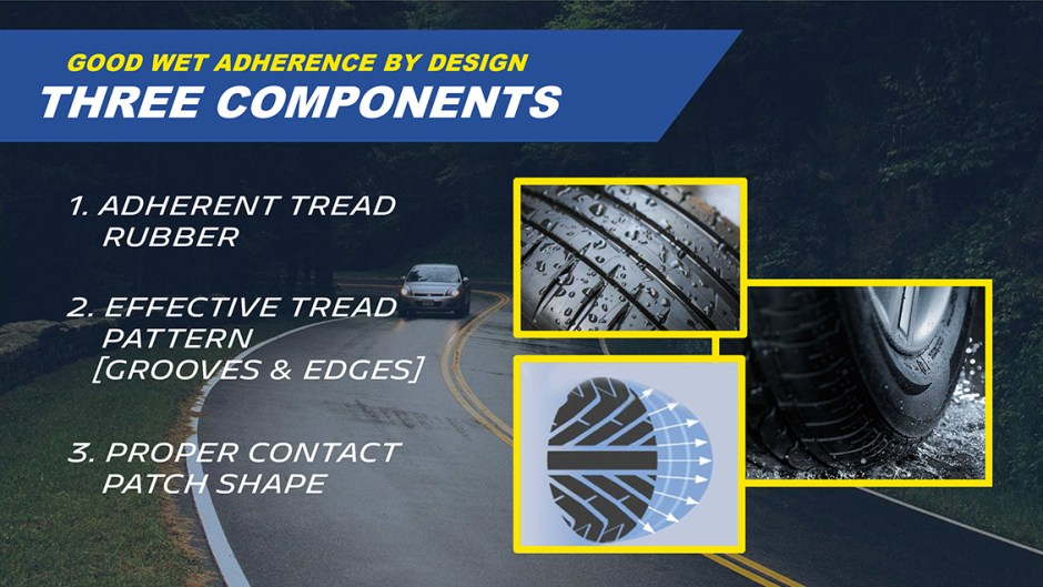 michelin truth about worn tires three components