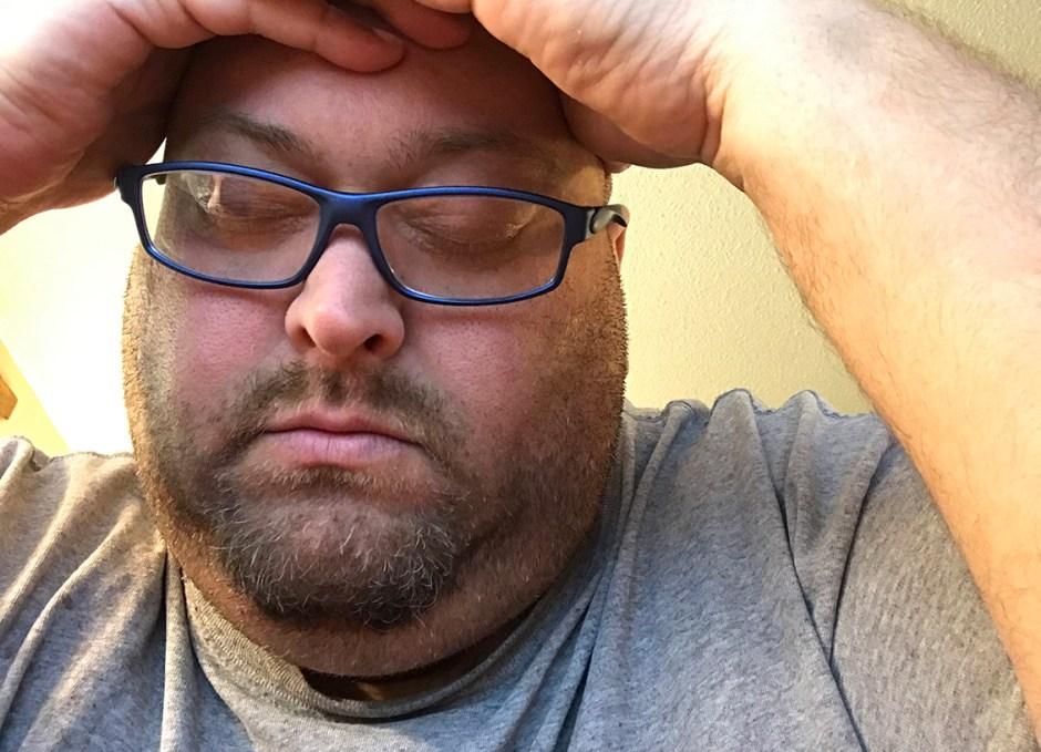 migraine craig at desk