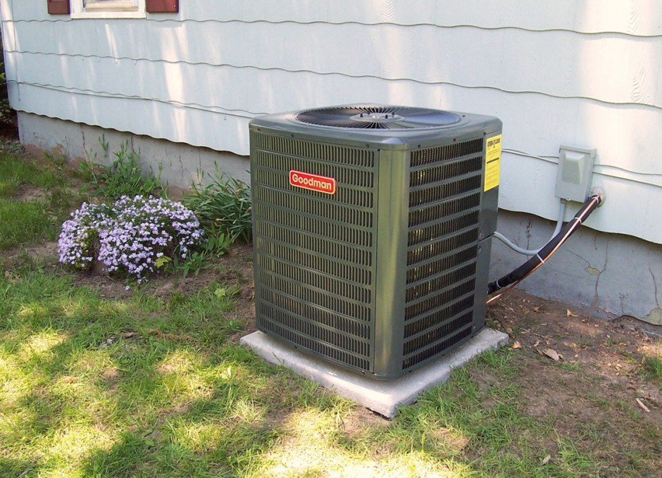 Air Conditioning in yard