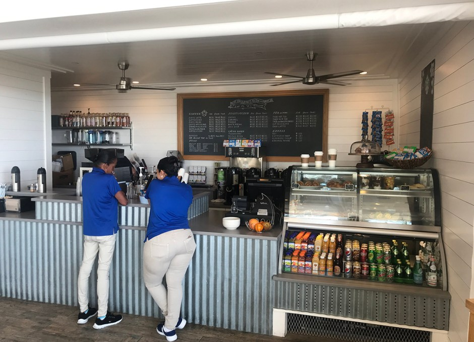 Oceans Edge cafe