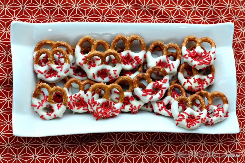 canada day desserts 4 Chocolate Covered Pretzels