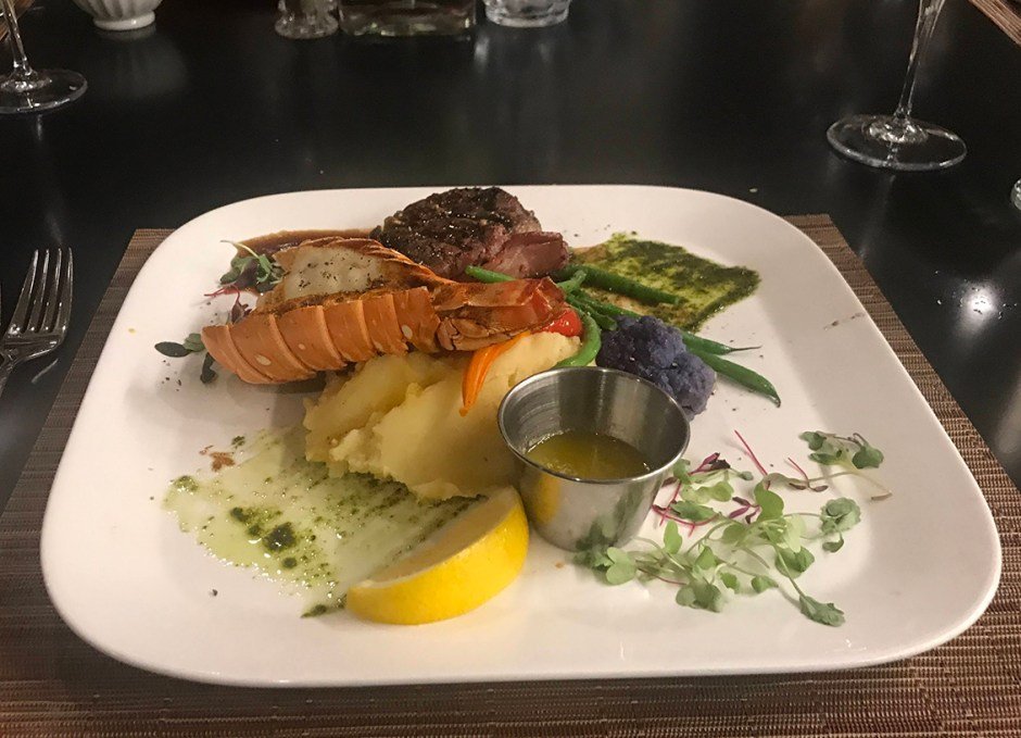 lighthouse 45 surf and turf