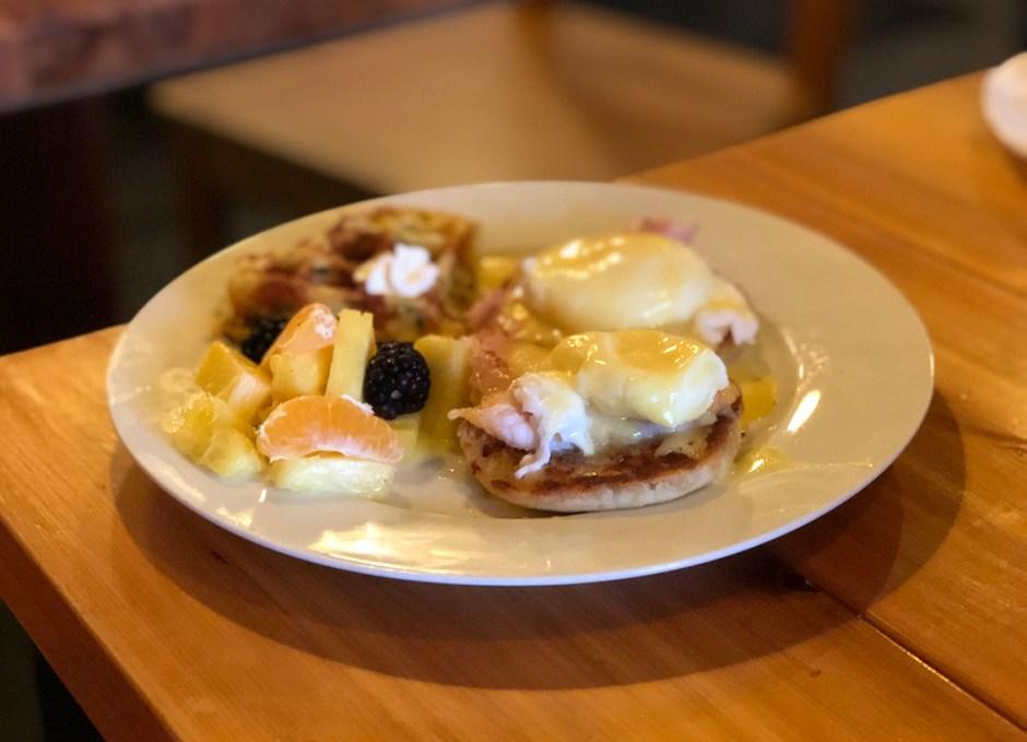 125 Breakfast Club eggs benedict