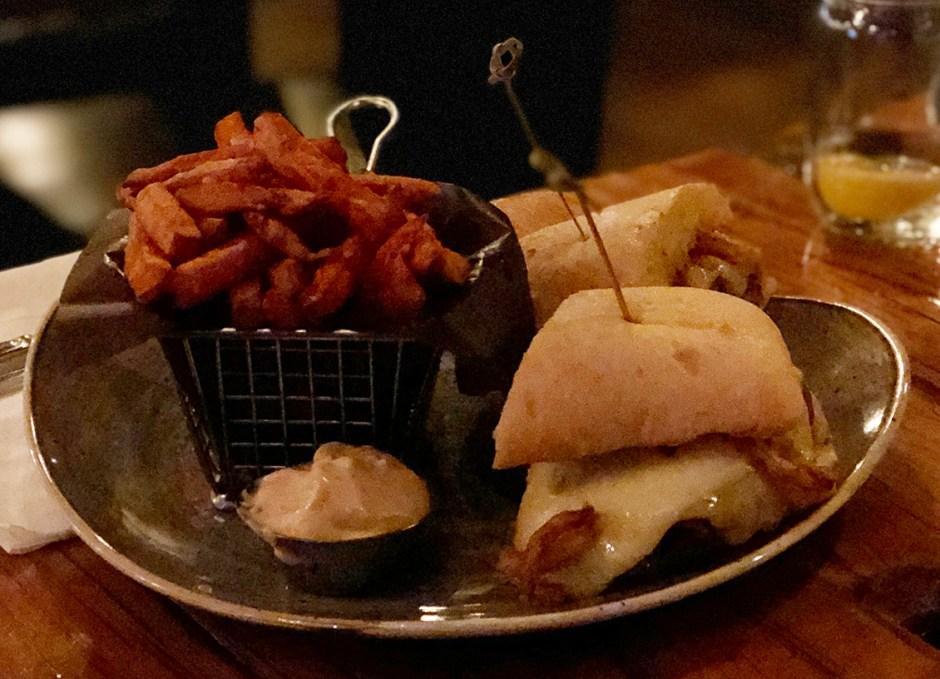 Tailwinds brisket sandwich