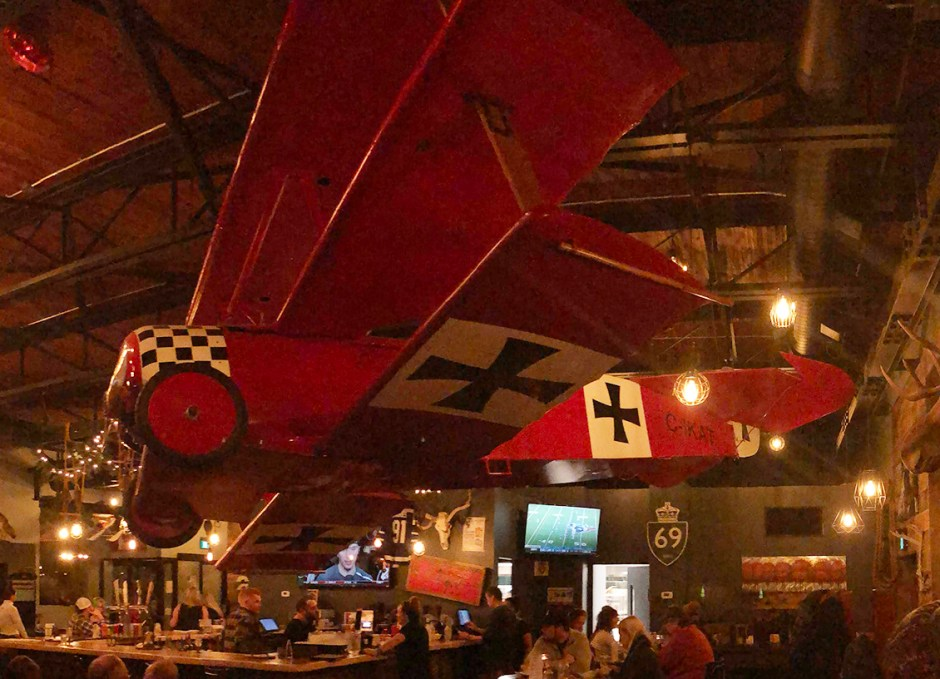 Tailwinds red baron