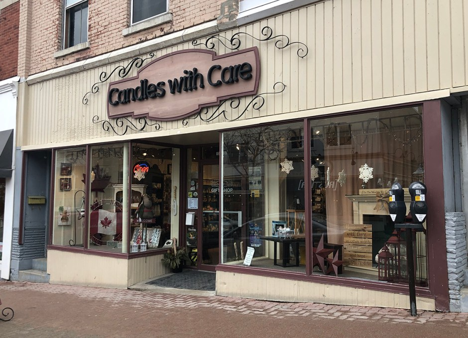 shop downtown orillia candles with care