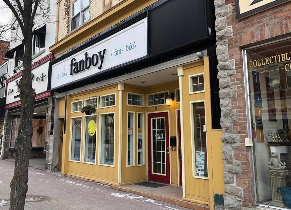 shop downtown orillia fanboy