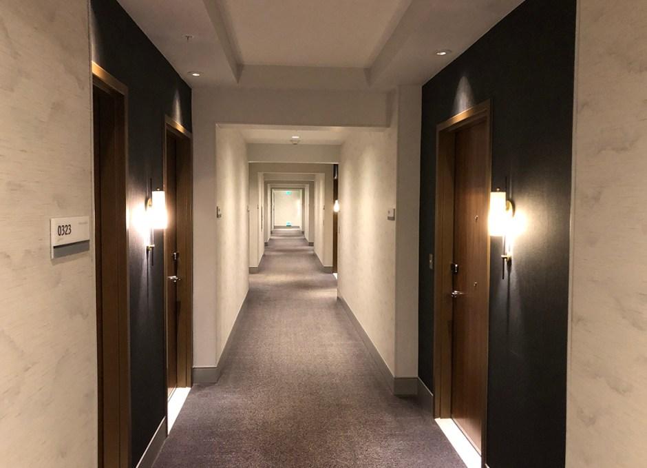 Le Méridien Downtown Denver the hallways