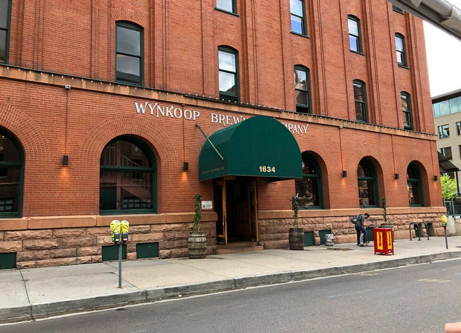 eTuk tour wynkoop brewing