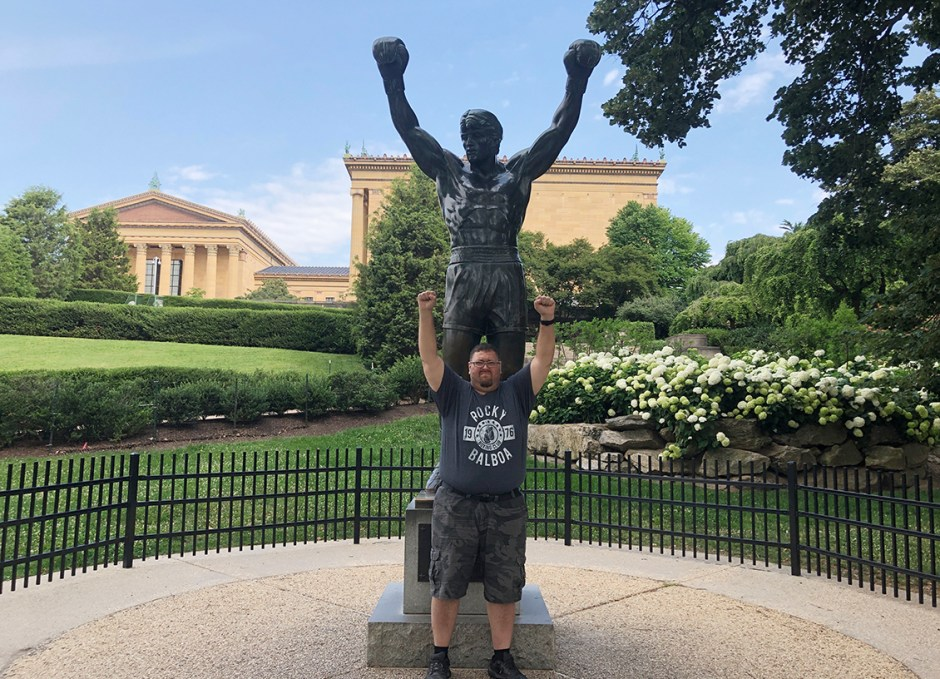 things to do in philly craig rocky statue