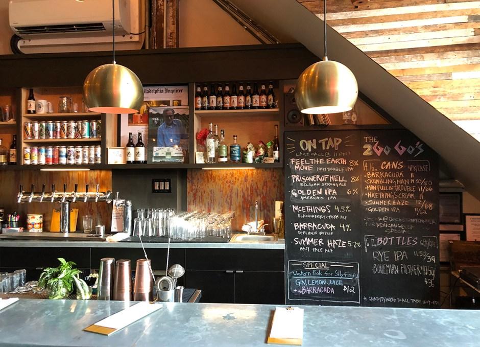 Raise A Glass Dock Street Bar Area