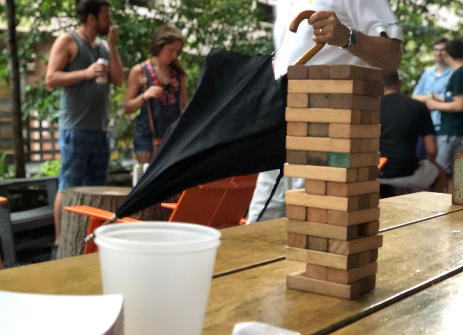 Raise A Glass Independence Beer Garden Jenga