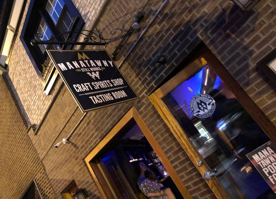 Raise A Glass Manatawny Craft Spirits Tasting Room Entrance