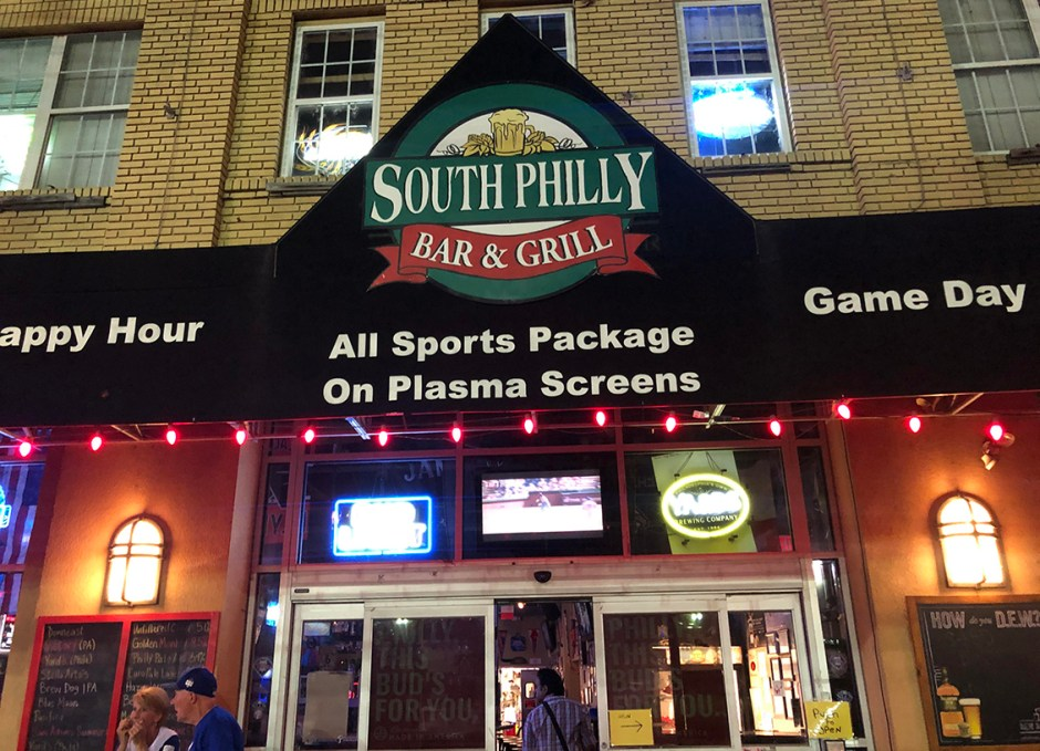 Raise A Glass South Philly Bar and Grill Exterior