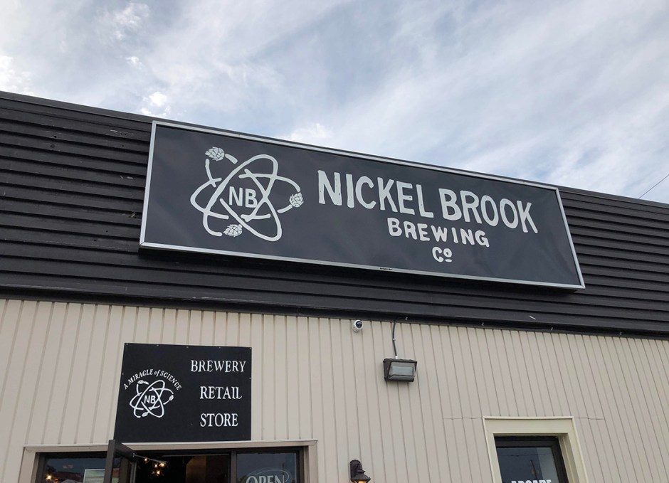 Taste Of Burlington Nickel Brook Brewing Co sign
