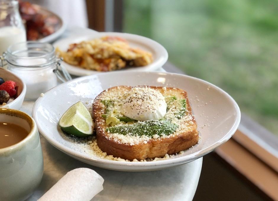 latitude 105 avocado toast