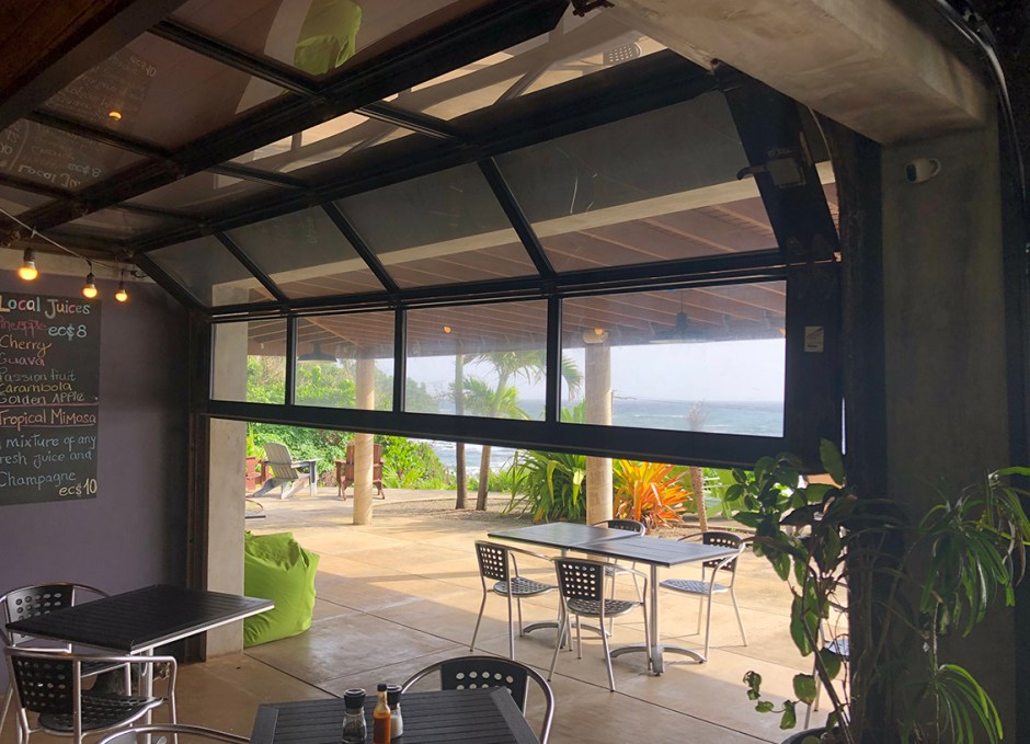 Pagua Bay House storm doors