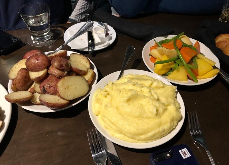 studebaker potatoes and veggies burlington