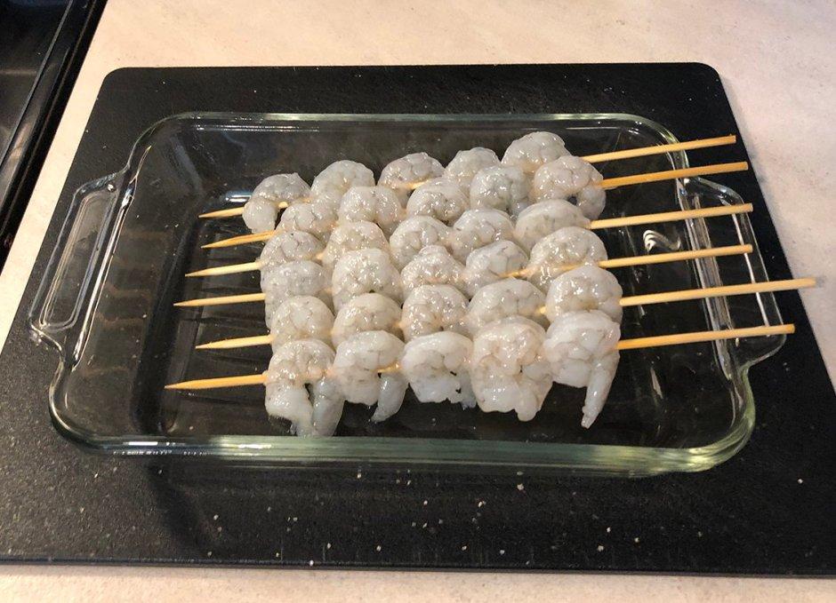 grace foods jerk raw shrimp skewers