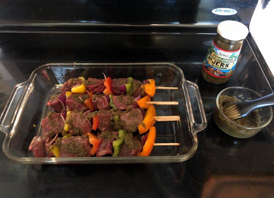 grace foods jerk seasoned beef