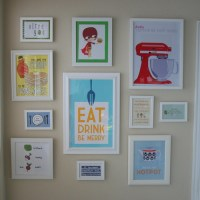 The Kitchen Art Wall RevealFinally | Big D and Me