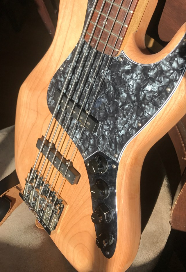 The finished bass