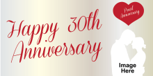 Anniversary Banner - Pearl 30th