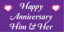 Anniversary Banner - Purple