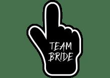 Team Bride Bubble