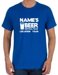 Stag T-Shirts - Beer Team