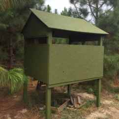 Swing Chair Local Camping Chairs Costco Easy & Cheap Homemade Deer Blind | Big