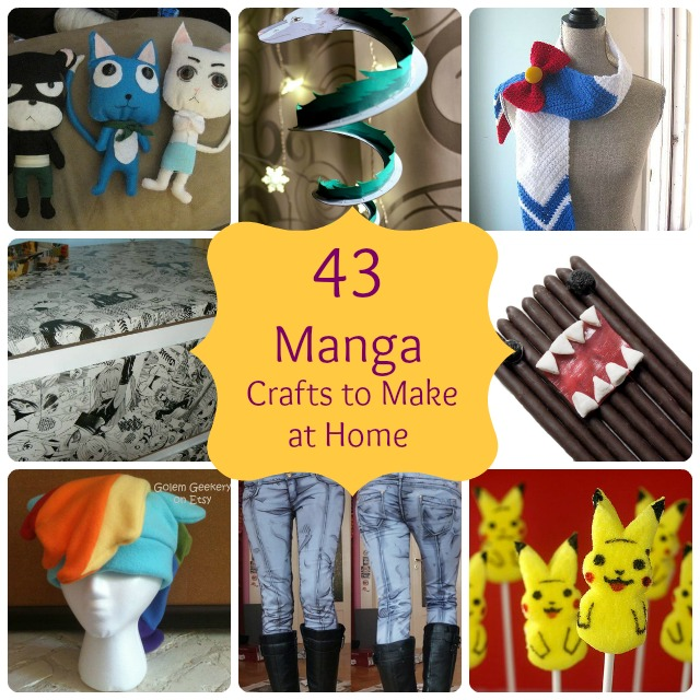 43 Simple Anime Amp Manga Gift Crafts To Make At Home