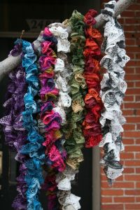 How To Crochet Scarf Tutorial ~ Pakbit for