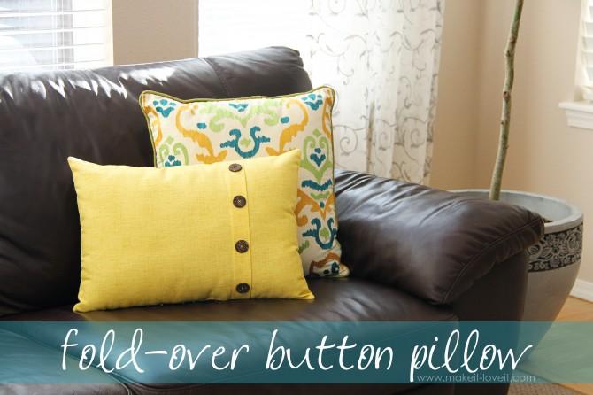 40 DIY Ideas for Decorative Throw Pillows  Cases