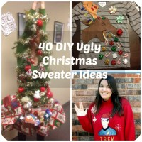 53 DIY Ugly Christmas Sweater Ideas