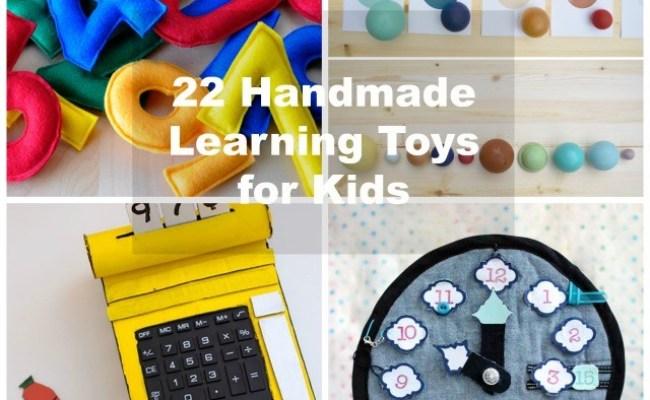 22 Handmade Learning Games Toys For Kids