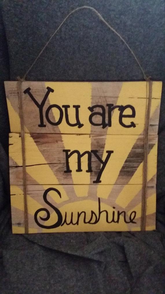 You Are My Sunshine  BigDIYIdeascom