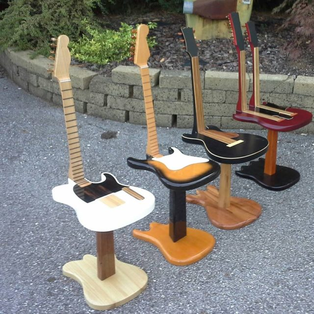 Homemade Guitar Amp Stand