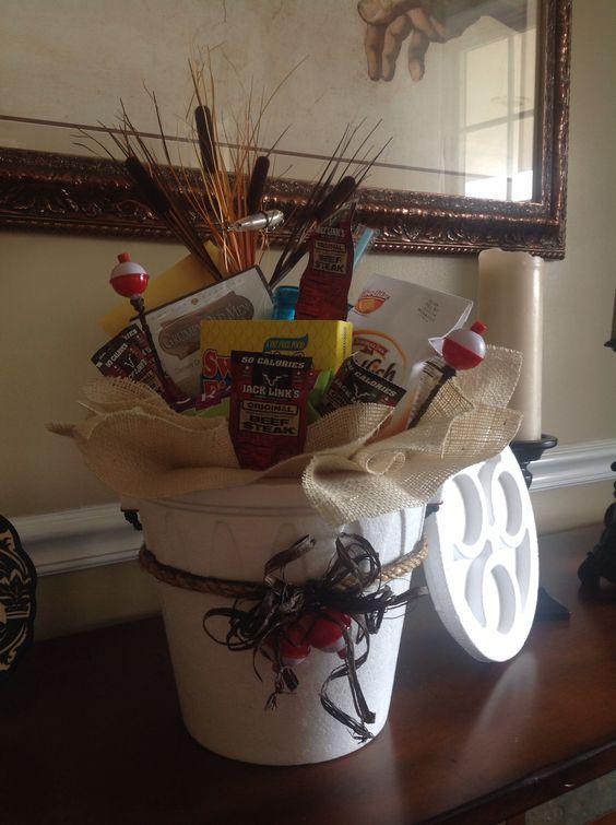Fishing Gift Basket  BigDIYIdeascom
