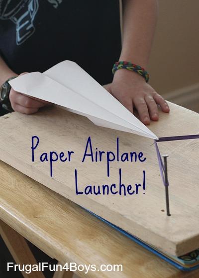 Paper Airplane Launcher  BigDIYIdeascom